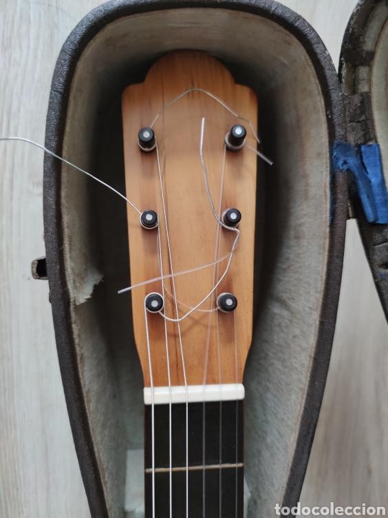 Instrumentos musicales: Guitarra antigua telesforo julve old guitar - Foto 4 - 208137783
