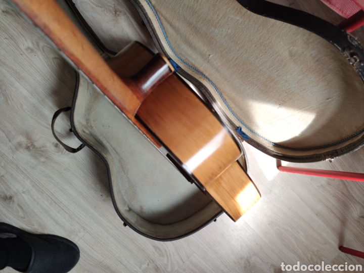 Instrumentos musicales: Guitarra antigua telesforo julve old guitar - Foto 6 - 208137783
