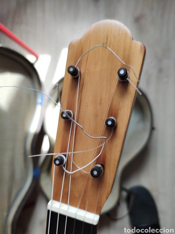 Instrumentos musicales: Guitarra antigua telesforo julve old guitar - Foto 12 - 208137783