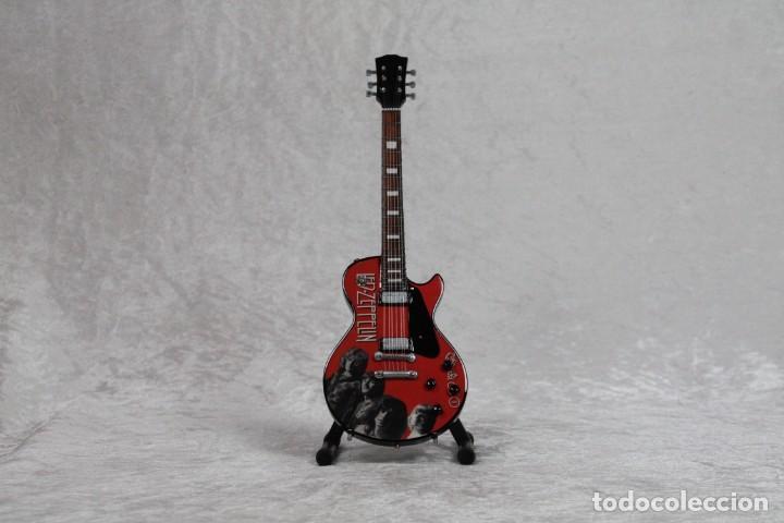 MINI GUITARRA DE LED ZEPPELIN (Música - Instrumentos Musicales - Guitarras Antiguas)