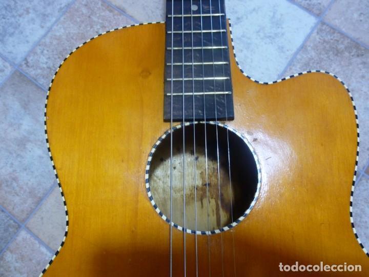 Instrumentos musicales: Antigua guitarra alemana jazz-gipsy - Foto 5 - 208967468