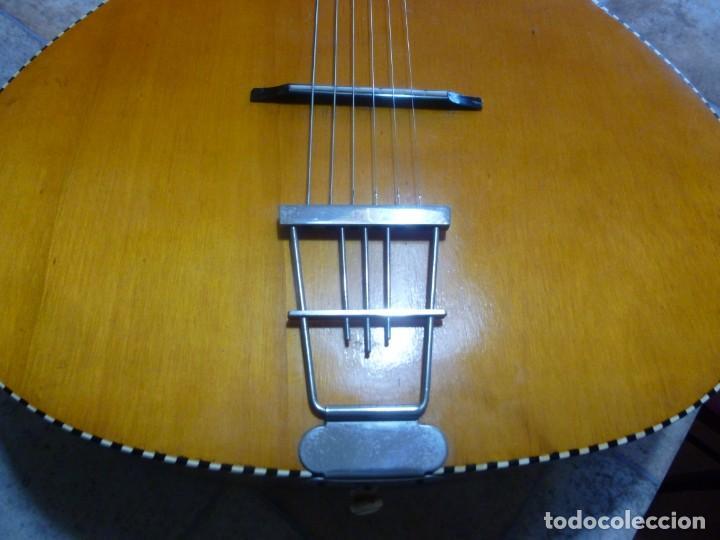 Instrumentos musicales: Antigua guitarra alemana jazz-gipsy - Foto 6 - 208967468