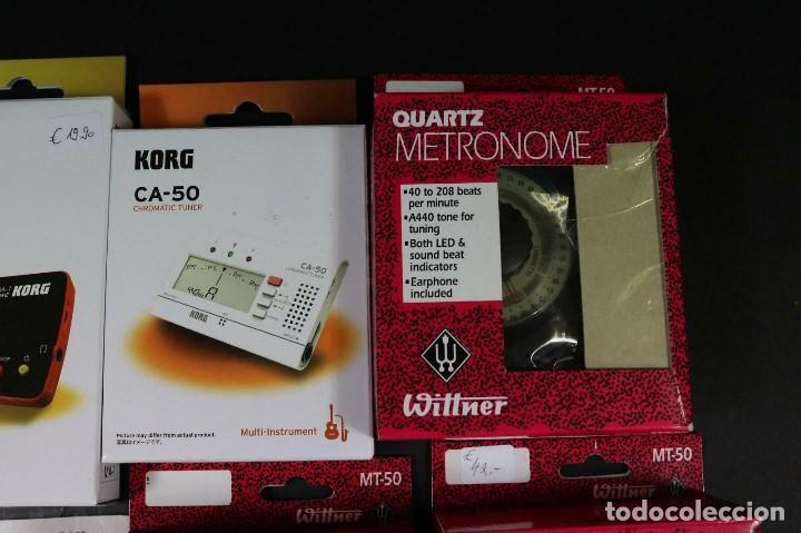 Instrumentos musicales: gran lote de accesorios de musica metrónomos y afinadores wittner -korg - lote 274 - Foto 3 - 209036333