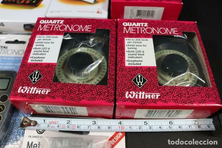 Instrumentos musicales: gran lote de accesorios de musica metrónomos y afinadores wittner -korg - lote 274 - Foto 8 - 209036333