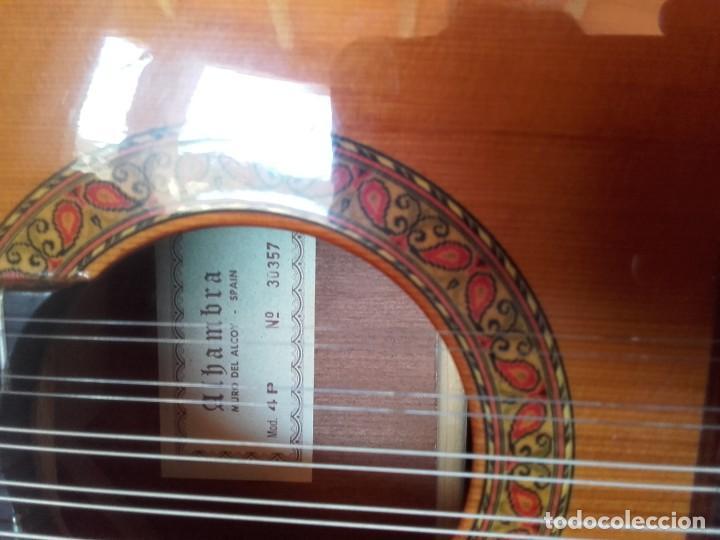 BANDURRIA ALHAMBRA 4P (Música - Instrumentos Musicales - Cuerda Antiguos)