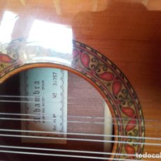 Instrumentos musicales: BANDURRIA ALHAMBRA 4P. Lote 209061008