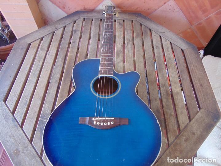 GUITARRA MARCADA DAYTONA ACUSTICA (Música - Instrumentos Musicales - Guitarras Antiguas)