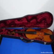 Instrumentos musicales: ANTIGUO VIOLIN CON FUNDA.PRINCIPIO SIGLO XX.. Lote 209273550