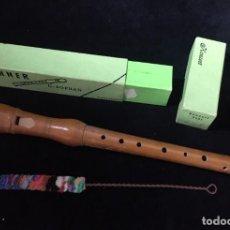 Instrumentos musicales: FLAUTA DE MADERA HOHNER C-SOPRAN. Lote 209327617