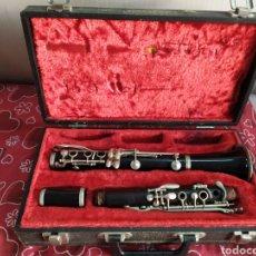 Instruments Musicaux: ANTIGUO CLARINETE DE PARÍS EN ESTUCHE. Lote 209389550