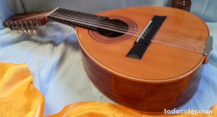 BANDURRIA CLÁSICA ESPAÑOLA. AÑOS 60. MAGNÍFICO INSTRUMENTO. (Música - Instrumentos Musicales - Cuerda Antiguos)