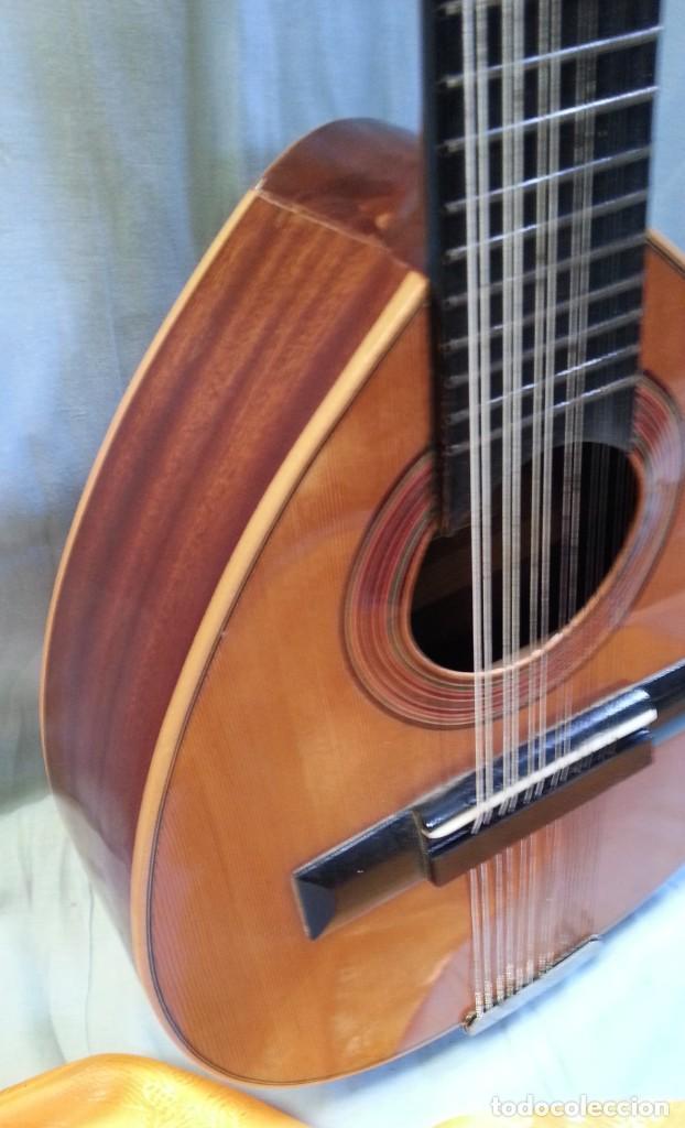 Instrumentos musicales: Bandurria clásica española. Años 60. Magnífico instrumento. - Foto 3 - 209561186