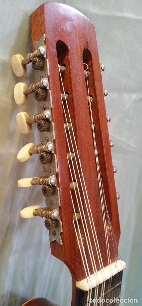 Instrumentos musicales: Bandurria clásica española. Años 60. Magnífico instrumento. - Foto 4 - 209561186