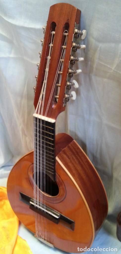 Instrumentos musicales: Bandurria clásica española. Años 60. Magnífico instrumento. - Foto 5 - 209561186