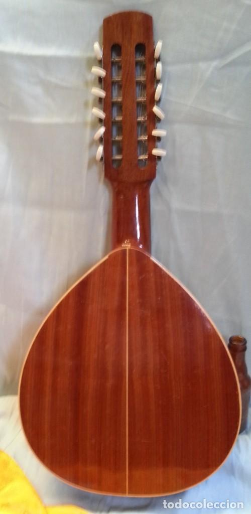 Instrumentos musicales: Bandurria clásica española. Años 60. Magnífico instrumento. - Foto 7 - 209561186