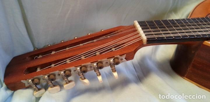 Instrumentos musicales: Bandurria clásica española. Años 60. Magnífico instrumento. - Foto 9 - 209561186