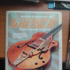 Instrumentos musicales: LOTE CATÁLOGO GUITARRAS GRETSCH, FENDER Y OTROS.. Lote 209563375