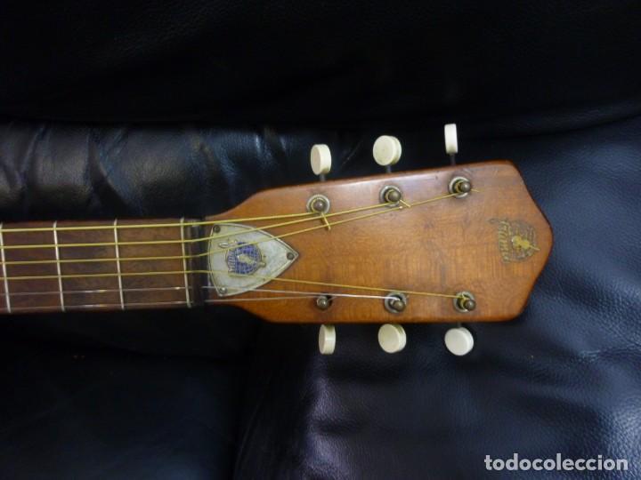 Instrumentos musicales: Guitarra Parlor Framus de los 60 - Foto 6 - 209755850