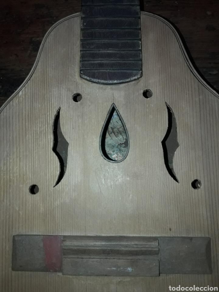 Instrumentos musicales: Antiguo Laud Guillermo Lluquet Valencia para restaurar por luthier o decorar - Foto 5 - 209760536