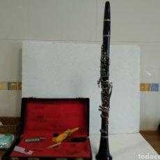 Instrumentos musicales: CLARINETE DE BAQUELITA CON CAJA CHENEY.AÑOS 20.RAREZA INGLESA. Lote 209761015