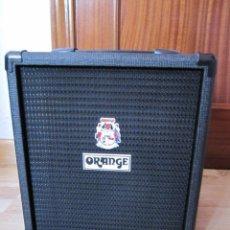Instrumentos musicales: ORANGE CRUSH BASS 25 BLACK AMPLIFICADOR DE BAJO. Lote 210002588