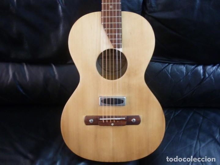 PARLOR ELECTROACÚSTICO FRAMUS SPORT (Música - Instrumentos Musicales - Guitarras Antiguas)