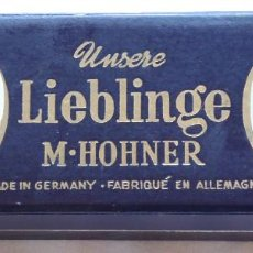 Instrumentos musicales: ANTIGUA ARMONICA M. HOHNER UNSERE LIEBLINGE CON ESTUCHE ORIGINAL. MADE IN GERMANY. AÑOS 50.. Lote 210134638
