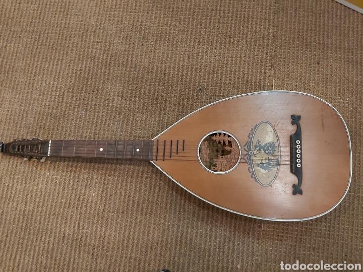 ANTIGUA MANDOLA (Música - Instrumentos Musicales - Cuerda Antiguos)