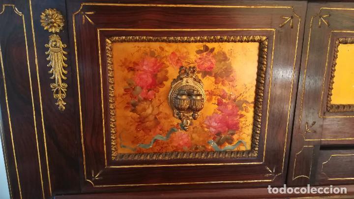 Instrumentos musicales: PIANO PARED ERARD EPOCA NAPOLEON III MEDALLA HONOR EXPOSICION PARIS - Foto 13 - 210191395