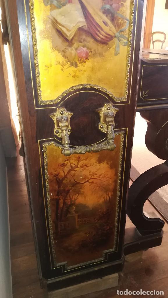 Instrumentos musicales: PIANO PARED ERARD EPOCA NAPOLEON III MEDALLA HONOR EXPOSICION PARIS - Foto 3 - 210191395