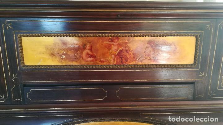 Instrumentos musicales: PIANO PARED ERARD EPOCA NAPOLEON III MEDALLA HONOR EXPOSICION PARIS - Foto 12 - 210191395
