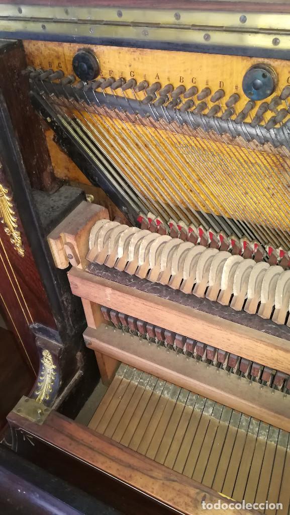 Instrumentos musicales: PIANO PARED ERARD EPOCA NAPOLEON III MEDALLA HONOR EXPOSICION PARIS - Foto 26 - 210191395