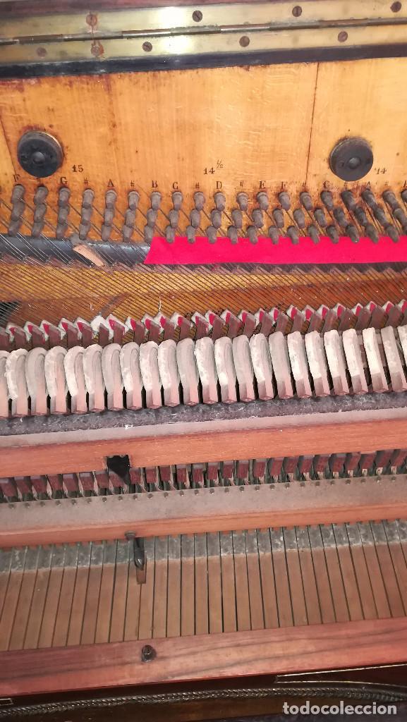 Instrumentos musicales: PIANO PARED ERARD EPOCA NAPOLEON III MEDALLA HONOR EXPOSICION PARIS - Foto 29 - 210191395