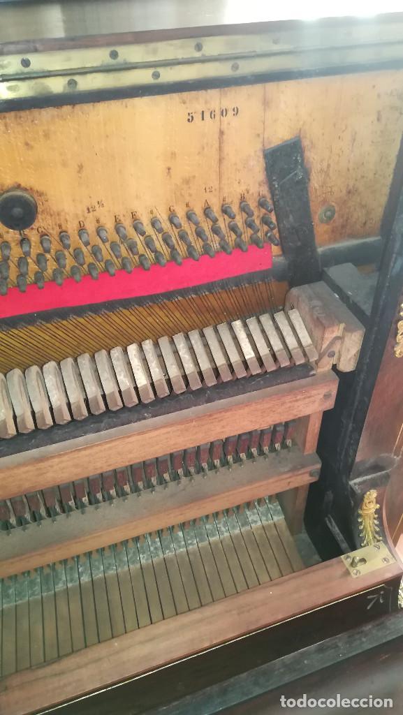 Instrumentos musicales: PIANO PARED ERARD EPOCA NAPOLEON III MEDALLA HONOR EXPOSICION PARIS - Foto 31 - 210191395
