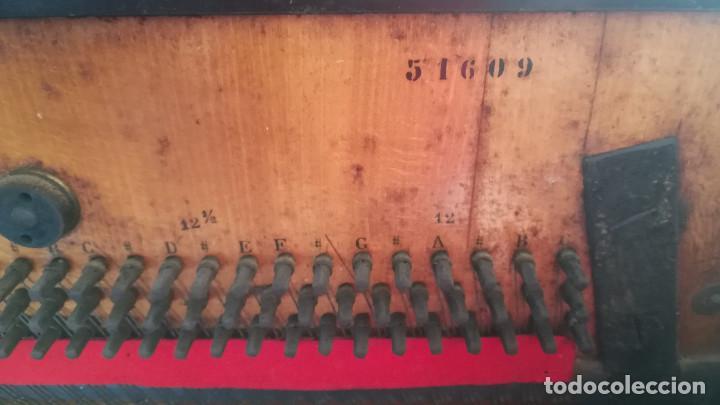 Instrumentos musicales: PIANO PARED ERARD EPOCA NAPOLEON III MEDALLA HONOR EXPOSICION PARIS - Foto 24 - 210191395