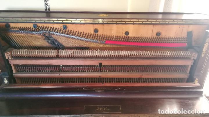 Instrumentos musicales: PIANO PARED ERARD EPOCA NAPOLEON III MEDALLA HONOR EXPOSICION PARIS - Foto 23 - 210191395