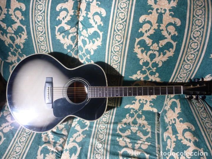 Instrumentos musicales: Guitarra acústica samick american series con funda - Foto 2 - 210220200
