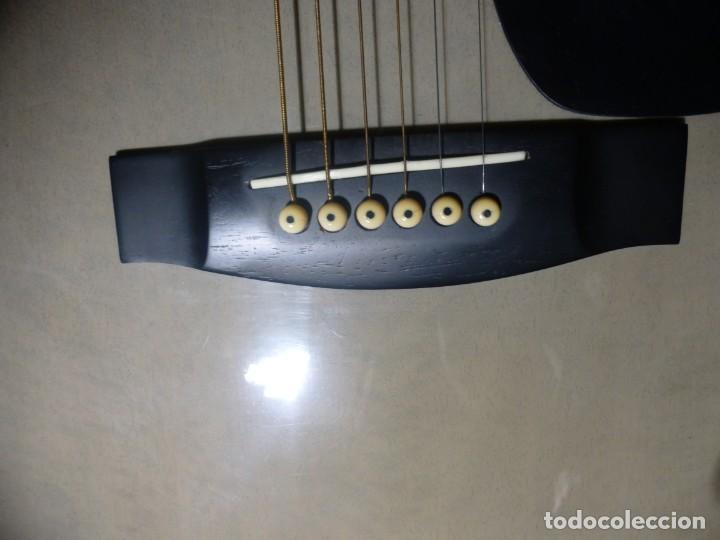 Instrumentos musicales: Guitarra acústica samick american series con funda - Foto 8 - 210220200