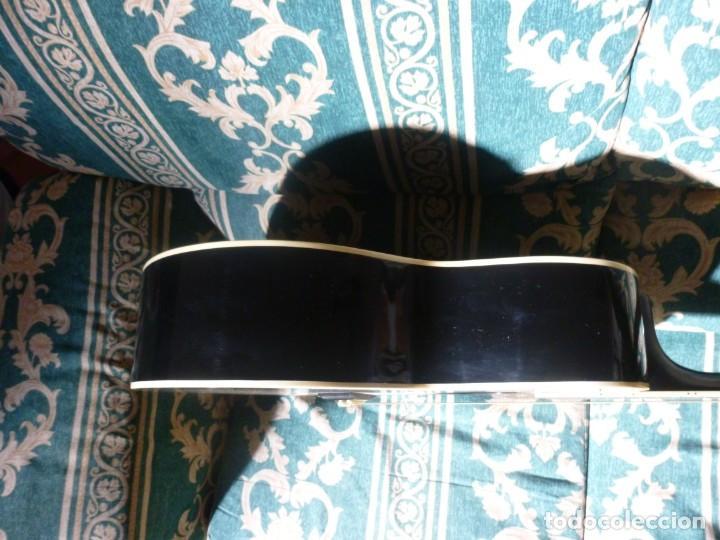 Instrumentos musicales: Guitarra acústica samick american series con funda - Foto 9 - 210220200