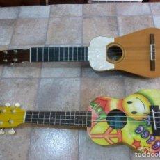 Instrumentos musicales: UKELELE KALA UKADELIK Y TIMPLE CANARIO CON FUNDAS.. Lote 210221200