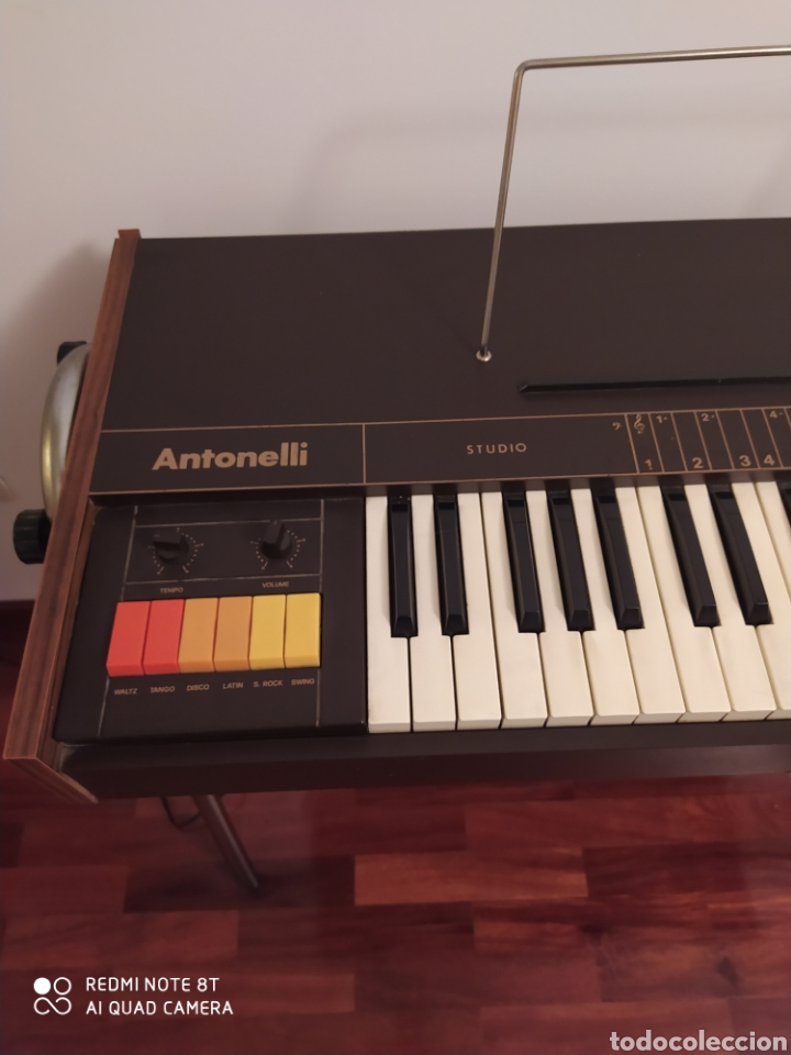 Instrumentos musicales: Órgano eléctrico 2377 Antonelli Studio. - Foto 3 - 210350483