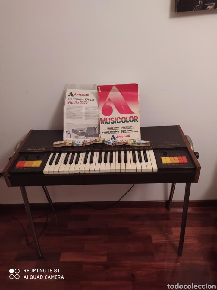 ÓRGANO ELÉCTRICO 2377 ANTONELLI STUDIO. (Música - Instrumentos Musicales - Teclados Eléctricos y Digitales)