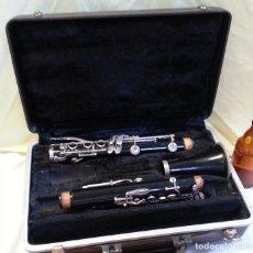 Instrumentos musicales: CLARINETE VIEJO AÑOS 50-60. NO FUNCIONA. ESTUCHE ORIGINAL.. Lote 210383511