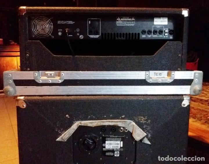 Instrumentos musicales: BASS AMPLIFIER AMPLIFICADOR DE BAJO AMPEG SVT-350H COMPLETO (CABEZAL + CAJA ACUSTICA + FUNDAS) - Foto 9 - 210415362