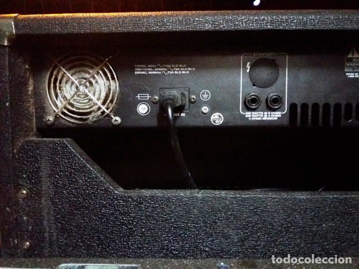 Instrumentos musicales: BASS AMPLIFIER AMPLIFICADOR DE BAJO AMPEG SVT-350H COMPLETO (CABEZAL + CAJA ACUSTICA + FUNDAS) - Foto 12 - 210415362