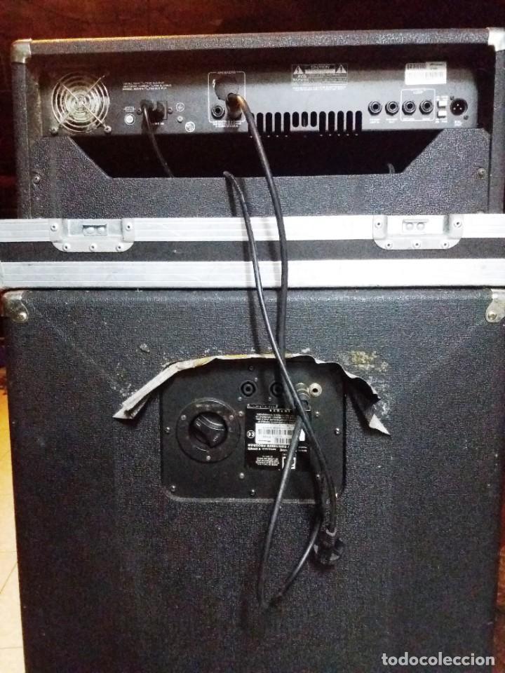 Instrumentos musicales: BASS AMPLIFIER AMPLIFICADOR DE BAJO AMPEG SVT-350H COMPLETO (CABEZAL + CAJA ACUSTICA + FUNDAS) - Foto 14 - 210415362
