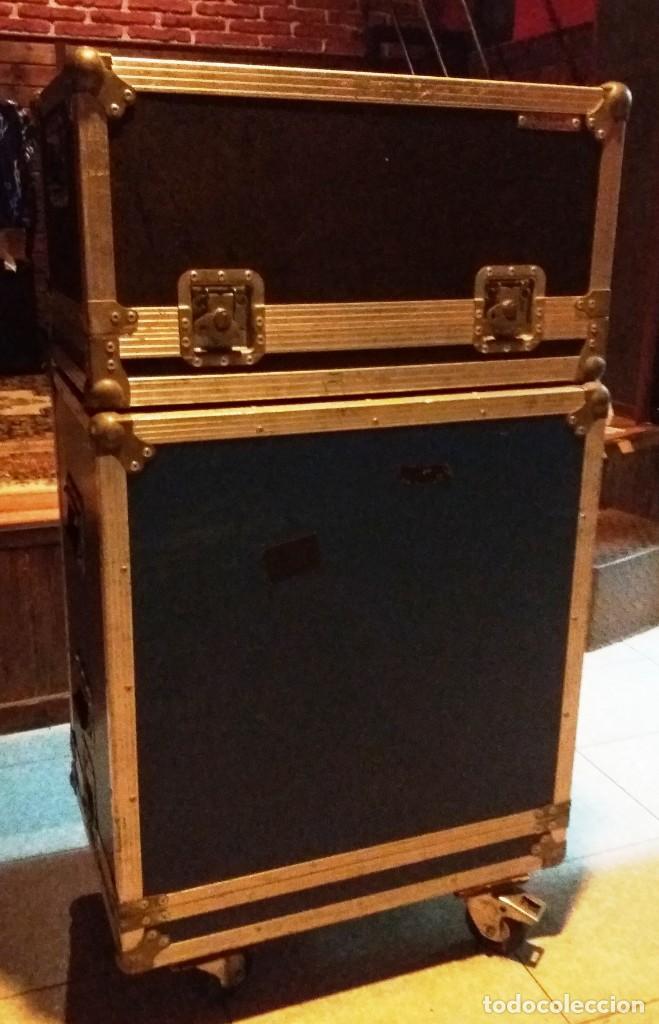 Instrumentos musicales: BASS AMPLIFIER AMPLIFICADOR DE BAJO AMPEG SVT-350H COMPLETO (CABEZAL + CAJA ACUSTICA + FUNDAS) - Foto 19 - 210415362