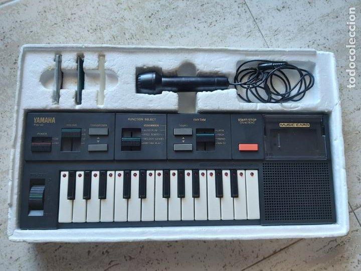 Instrumentos musicales: Teclado Yamaha electronic keyboard tyu-40 - Foto 2 - 210452186