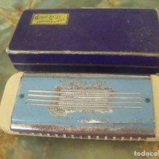Instrumentos musicales: ARMONICA DE BOCA ESTRELLA DE ORO EN SU CAJA ORIGINAL. Lote 210480631