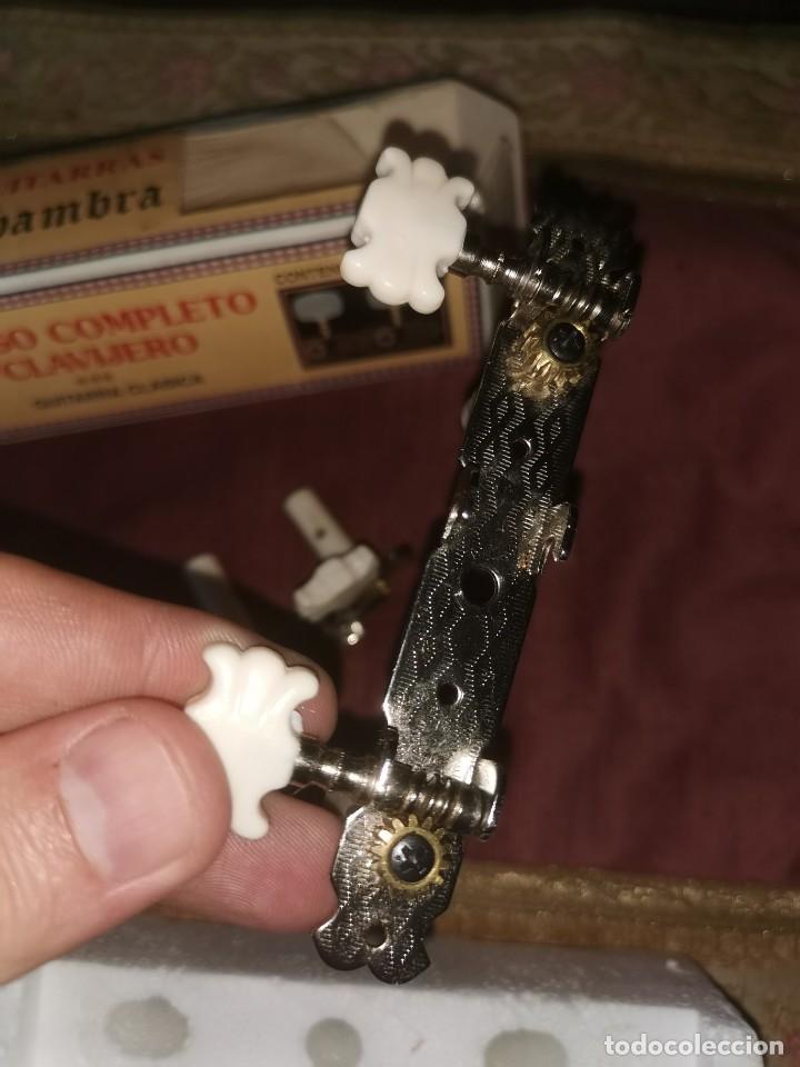 Instrumentos musicales: Juego de clavijas. Alhambra. Guitarra clásica - Foto 2 - 210585697